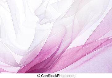 pink chiffon - soft pink chiffon with curve and wave