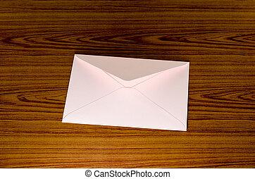 soft pink envelope