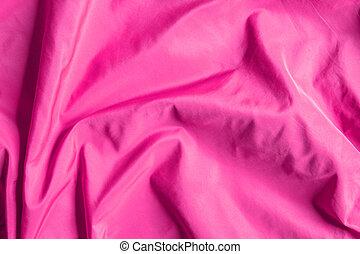 Pink satin background texture