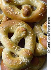 Soft Pretzels - Freshly baked, golden brown Philadelphia...