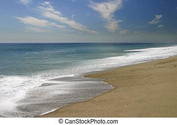 soft shoreline - Leo Carrillo, north of Malibu