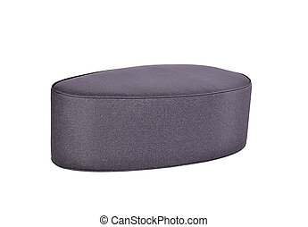 Soft stool. On a white background.
