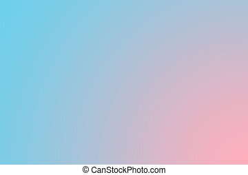Soft sweet blurred blue and pink pastel color background. Abstract gradient desktop wallpaper.