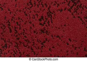 Soft textile background in passion red colour.