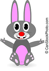 Soft toy - rabbit (hare)