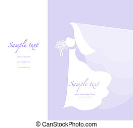 Soft wedding background