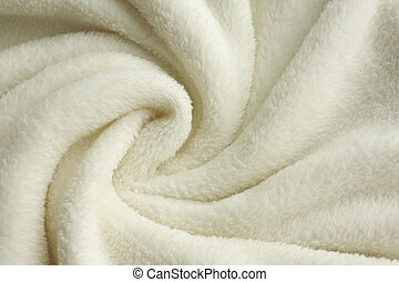 Soft White Plush Blanket Background - a warm, white, plush ...