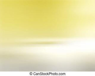 Soft yellow background horizon