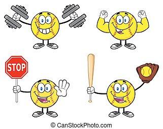 Softball Character Collection - 1