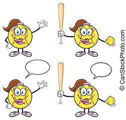 Softball Character Collection 2
