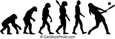 Softball evolution batter