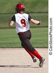 softball játékos