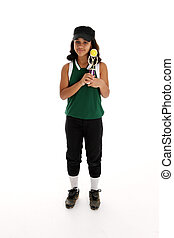 Softball Player