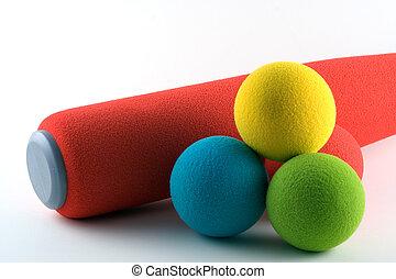 Softball Set - Foam bat and soft balls