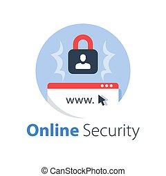 software, accesso, sicuro, internet, antivirus, protezione, linea, integrità dei dati