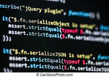 software, código, programación, revelador