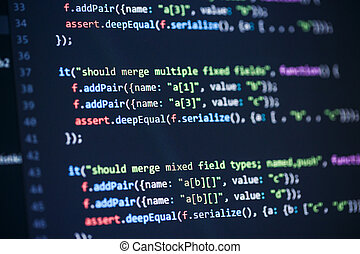 software, programación de computadora, código