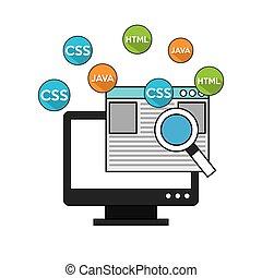 software programming language icons