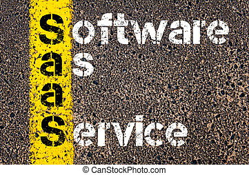software, siglas, empresa / negocio, s, saa, servicio