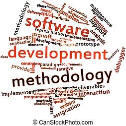 software, sviluppo, metodologia
