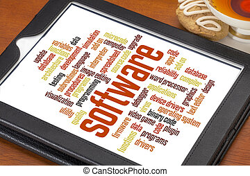 software word cloud - software and computer program word ...