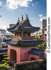 Sofuku-ji Temple in Nagasaki, Japan.