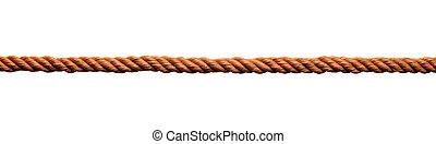 soga, cuerda, enlace, cuerda, cable