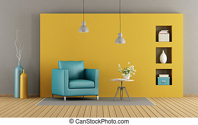 soggiorno, colorito