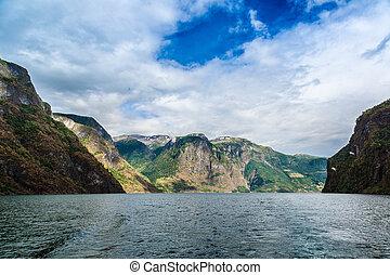 sognefjord, noorwegen
