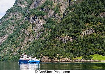 sognefjord, norvège