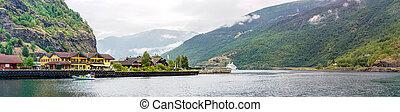 sognefjord, w, norwegia