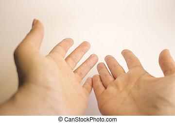 soi, womans, masage, mains