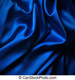 soie bleue