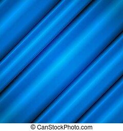 soie bleue, waves.