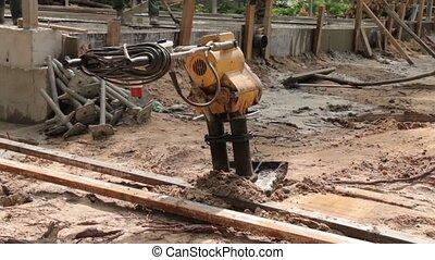 Soil Compactor Machine - Soil compactor machine vibration...