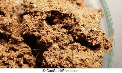 Soil Mineral Analysis - Analyzing soil and mineral samples...