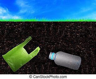 Soil Pollution Concept