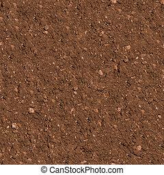 soil., seamless, texture.