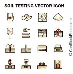Soil test icon