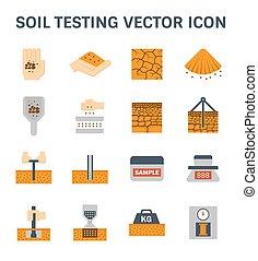 soil testing icon