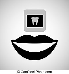 soin dentaire, icône