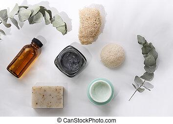 soin, peau, produits