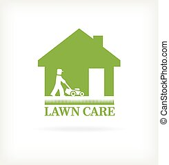 soin pelouse, symbole