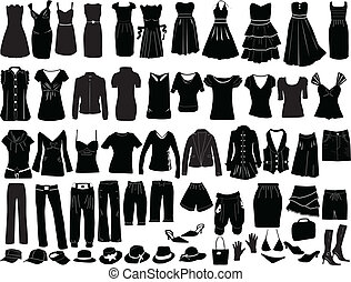 soir, accessoires, robes