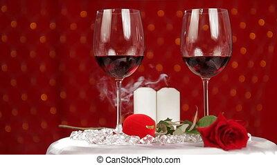 soir, fin, romantique