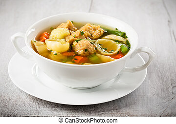 soja, sopa, noodle, bocados, vegan