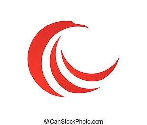 sokół, logo
