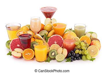 sok, owoc