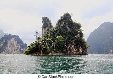 sok, thailand., khao, park., nazionale