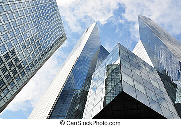 sokemeletes, épületek, alatt, la védelem, körzet, közül,...